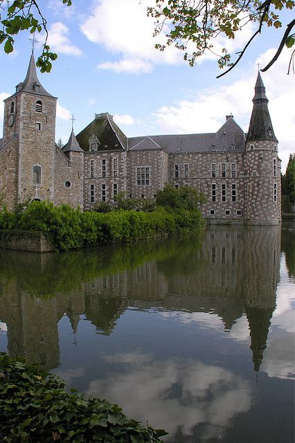 CHATEAU DE JEHAY - Belgium .