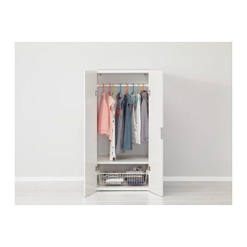 STUVA Storage combination with doors - white/white - IKEA