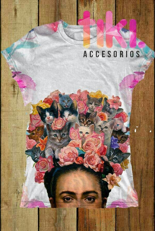 Blusa Frida Kahlo 0c92e5c2924cc