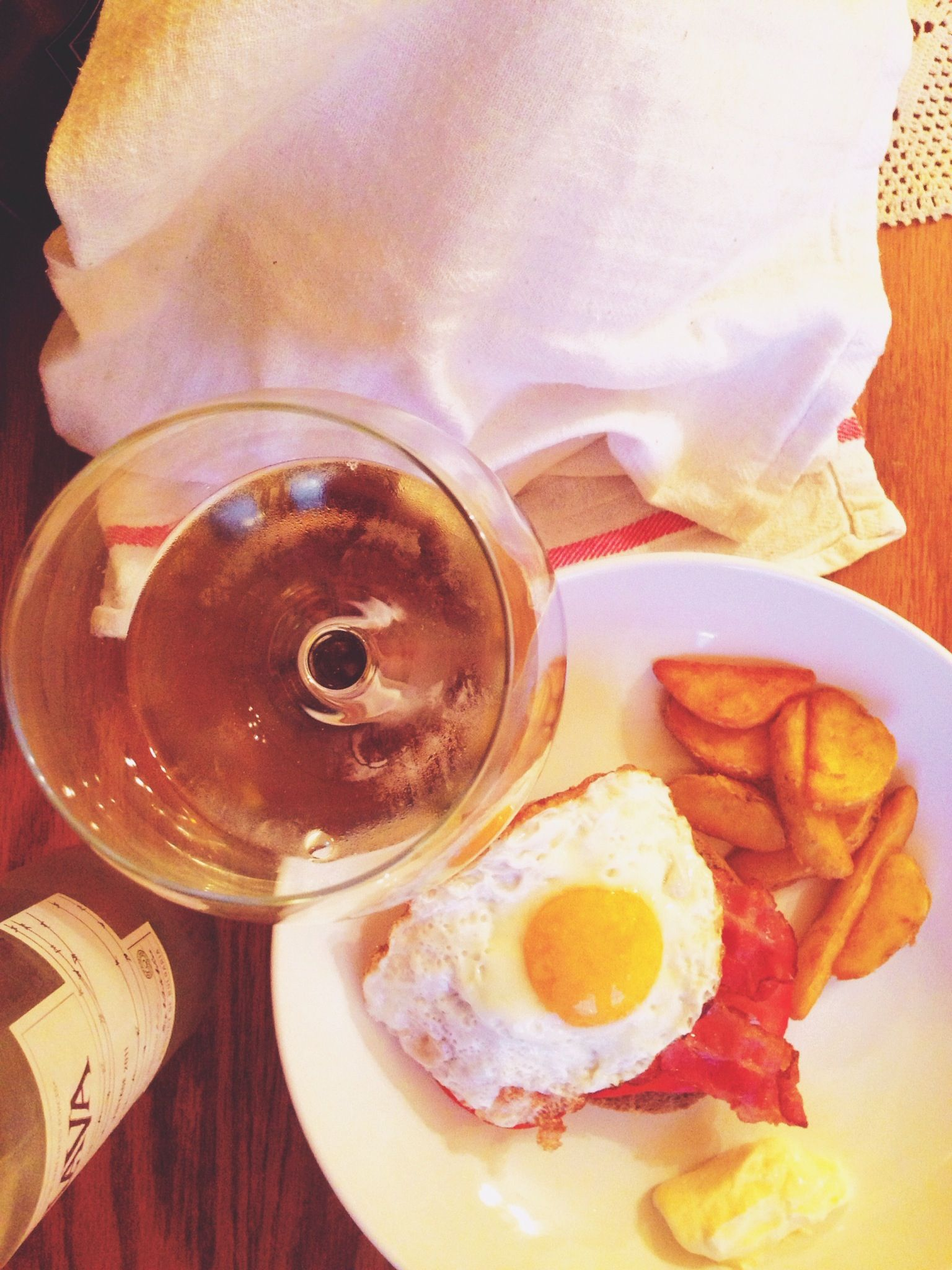Bacon Eggs Paired With Riesling Wine Wine Recipes Food Riesling Wine