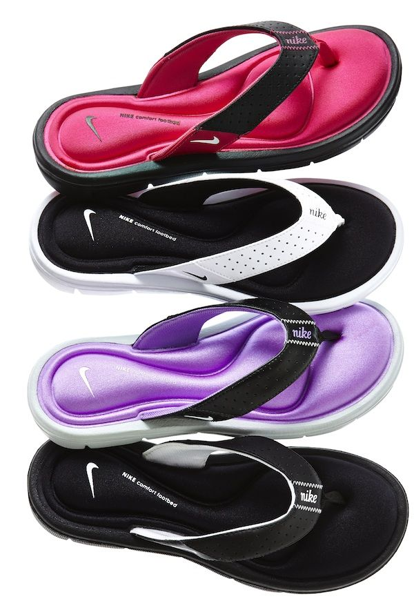 11015b22aaf8 These look so comfy! nike comfort flip-flops  jcp