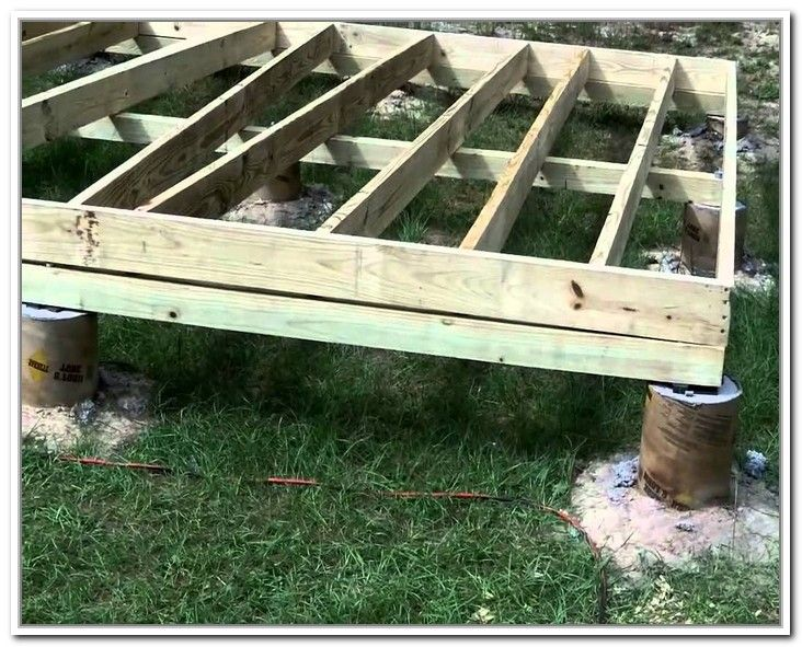 How to build a storage shed foundation building a
