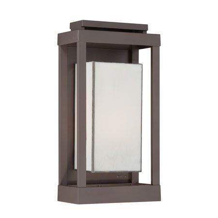 Quoizel Pwl8309wt Powell 1 Light Outdoor Wall Lights In