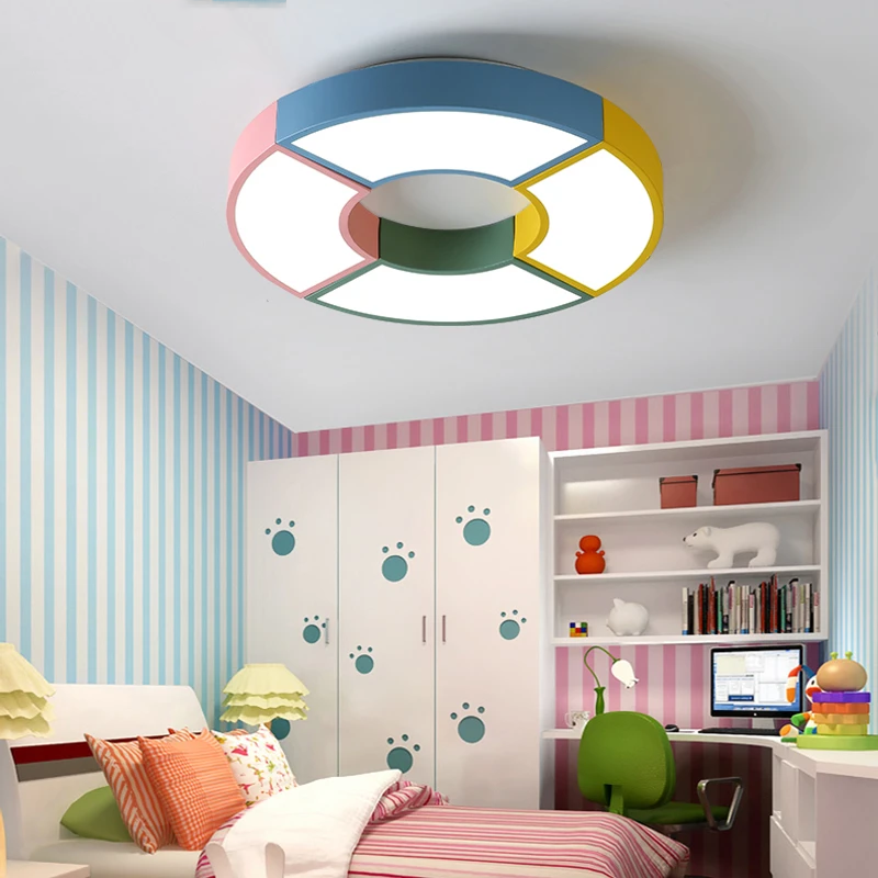 Multicolor Led Ceiling Lights In Windmill Shape For Living Room Ceiling Lamps Kids Bedroom Boys Room Ceiling Lamp Rooms Light Le Lighting