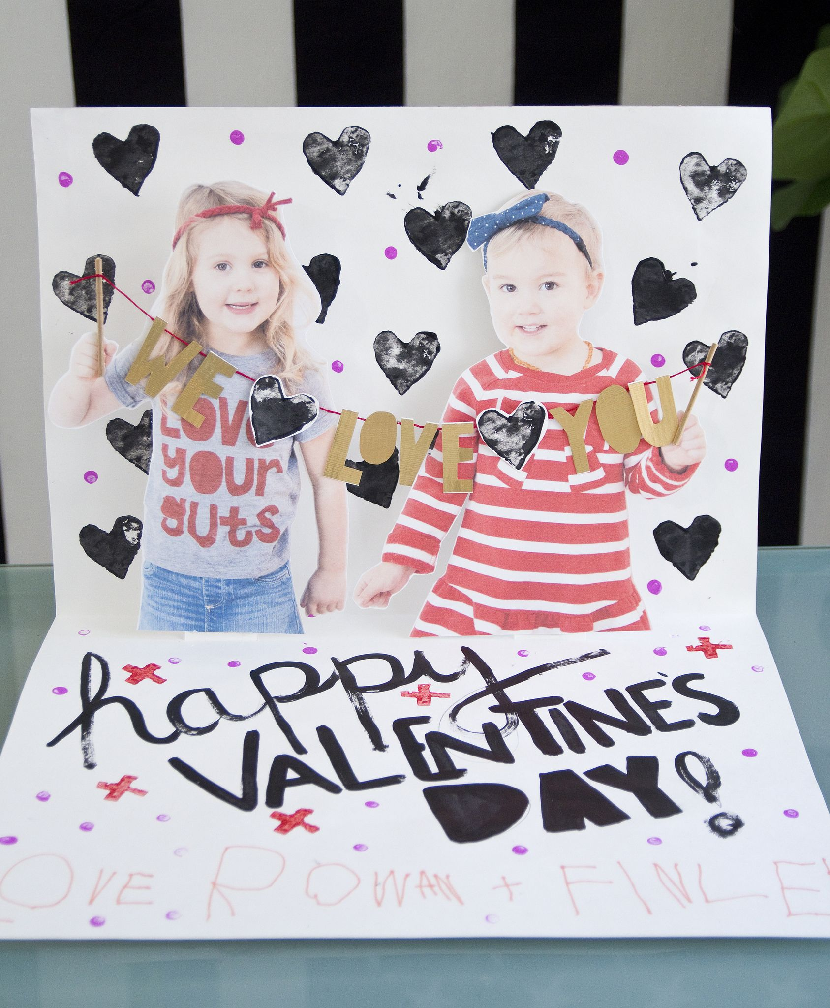 How To Make Super Sized Pop Up Valentine S Day Cards Www