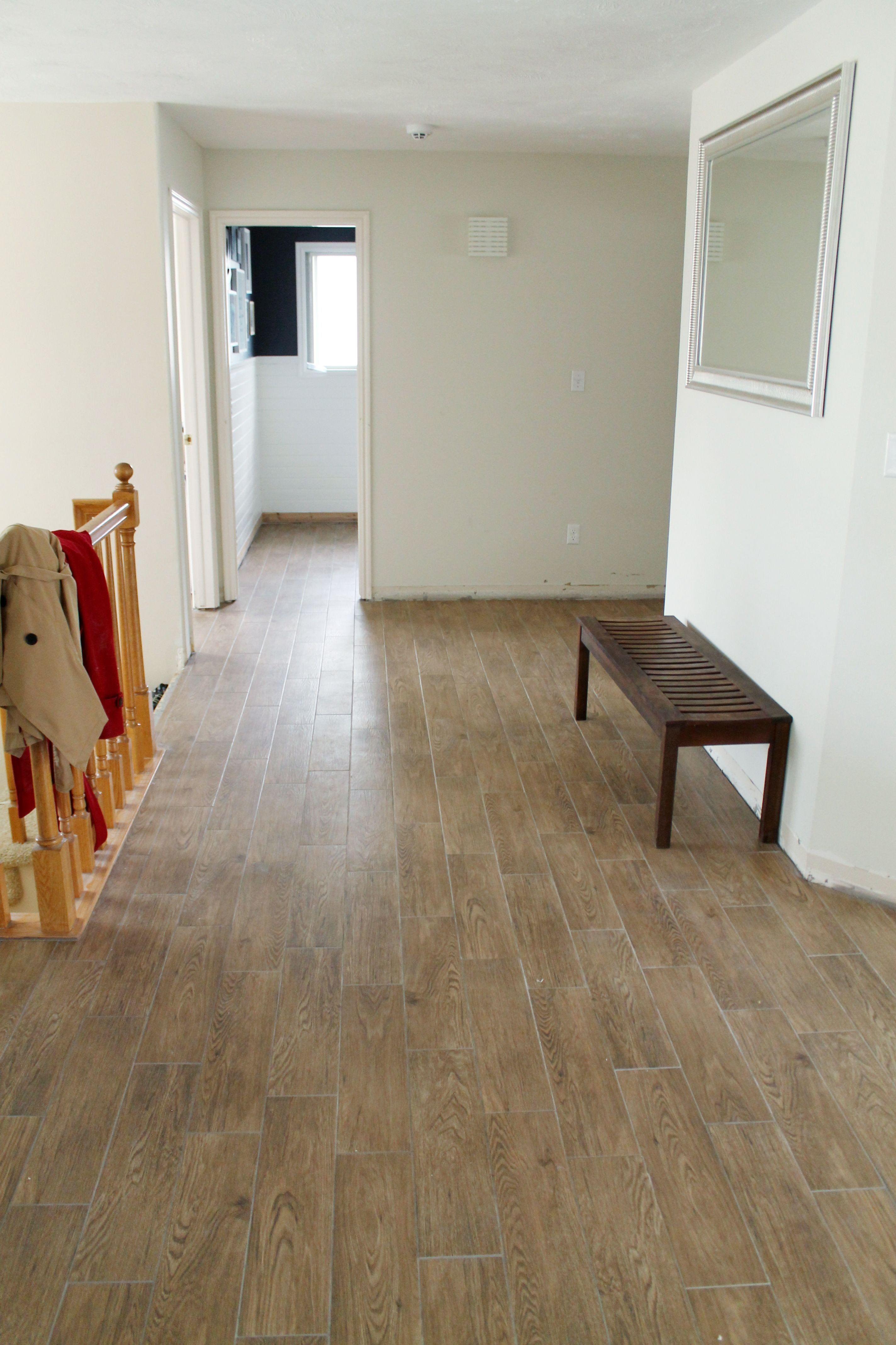 30 Inspirational Faux Wood Ceramic Tile Flooring