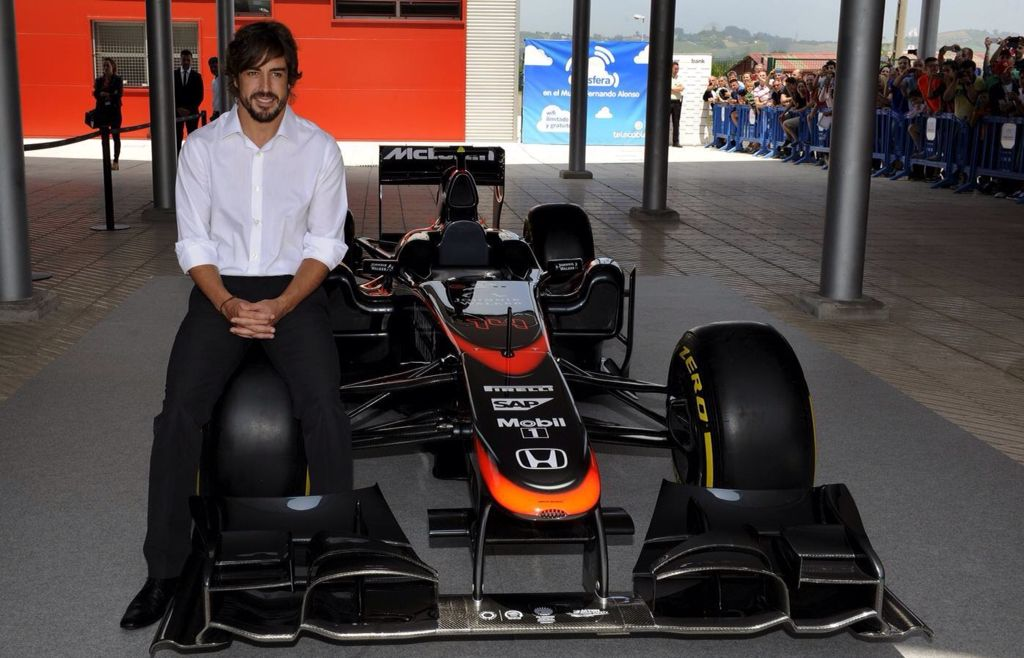 Fernando Alonso Opens His Museum 26/6/2015
