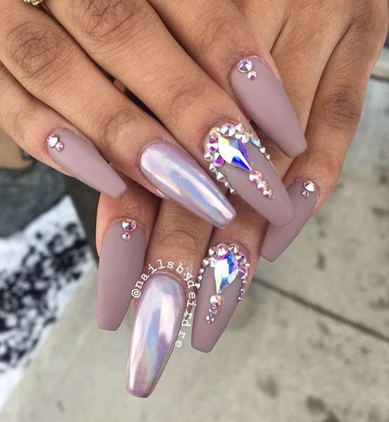 ♕PINTEREST:KIANIA | CLAW COUTURE | Pinterest | Holographic, Nail ...