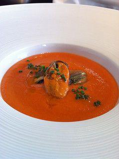 Salmorejo espanjalainen tomaattikeitto