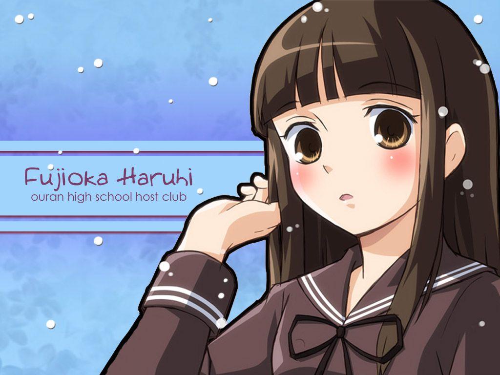 Ouran High School Host Club Fujioka Haruhi High School Host