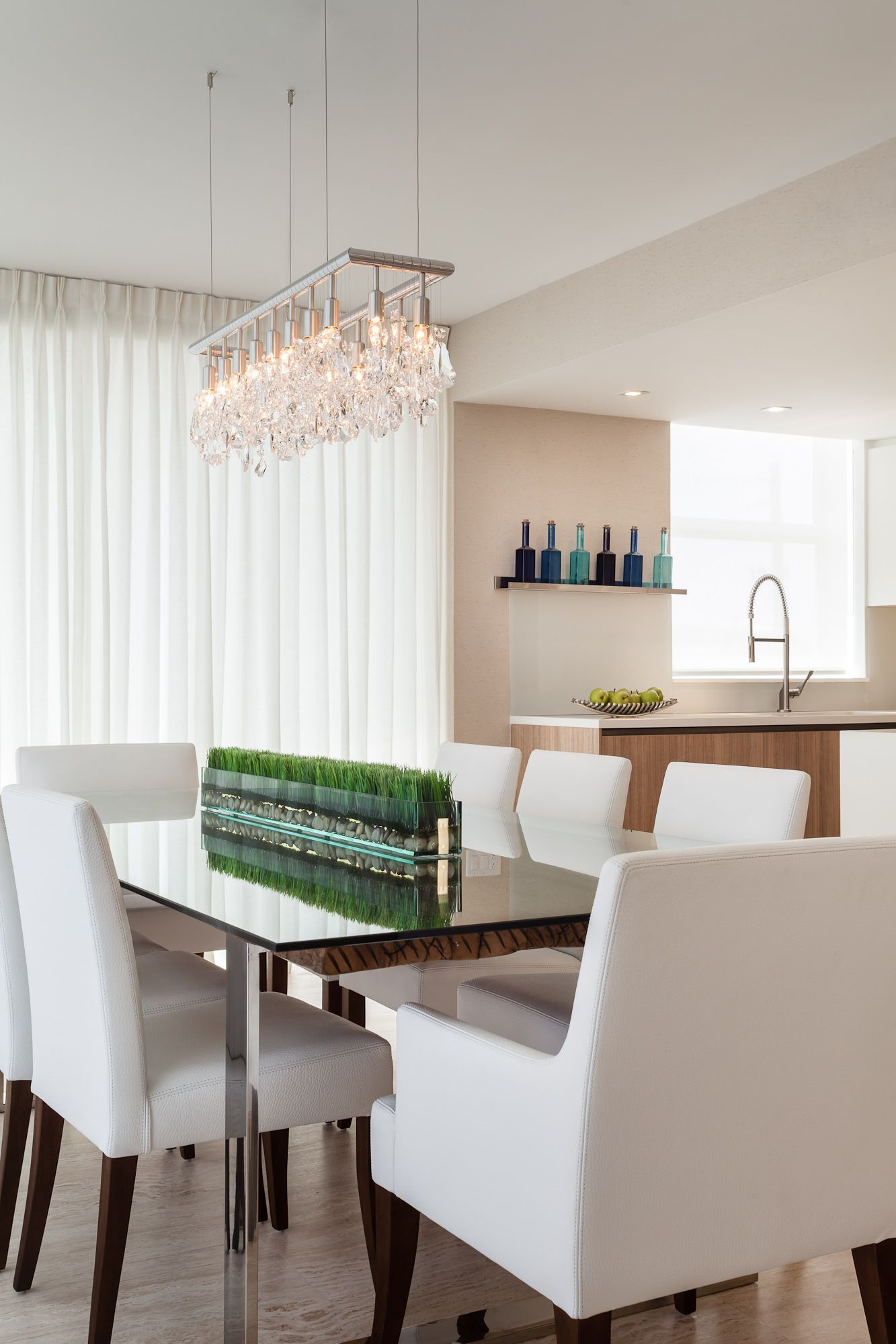 Project by 2id interiors South Beach Contemporary Elegant Cozy – Cellula Chandelier