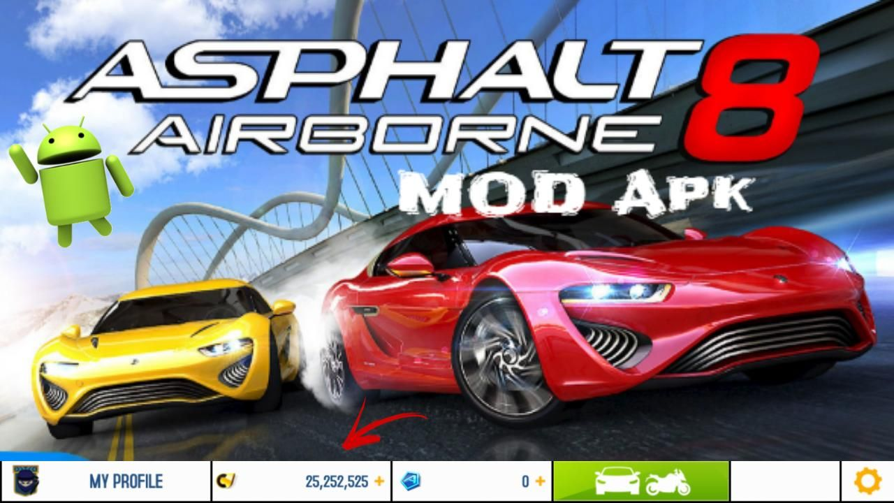 Asphalt8 Mod Apk Free Shopping Anti Ban Download Asphalt 8 Airborne Racing Games Asphalt