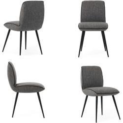 Photo of Cocktail armchair Sari stone – Velor fabric RollerRoller