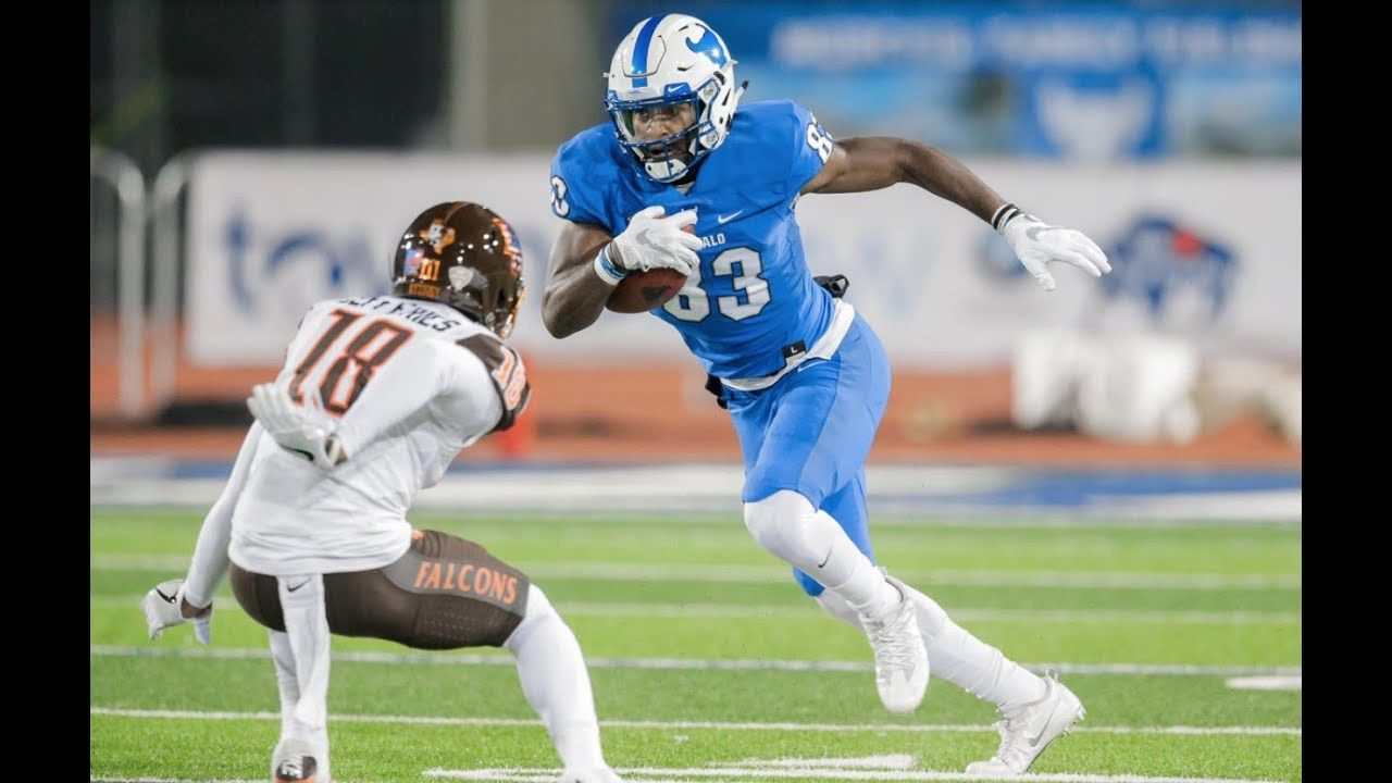 Buffalo Bulls Anthony Johnson Could Be The Best Wr In The 2019 Nfl Draft Anthony Johnson Buffalo Bulls Nfl