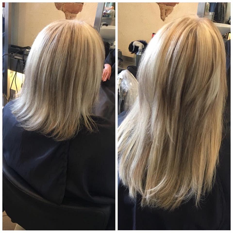 Haarverlngerung Vorher Nachher  Haarverlngerung