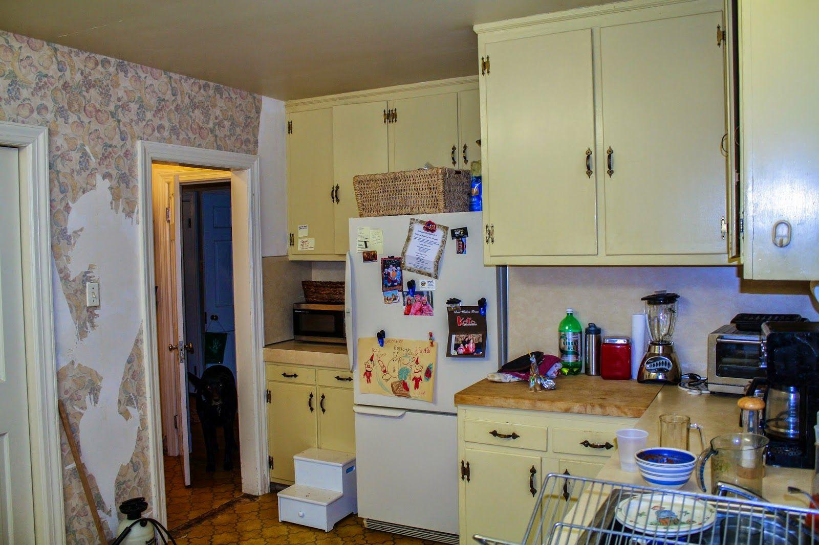 Kitchen Renovation - Refacing Kitchen Cabinets - New Hardware ...