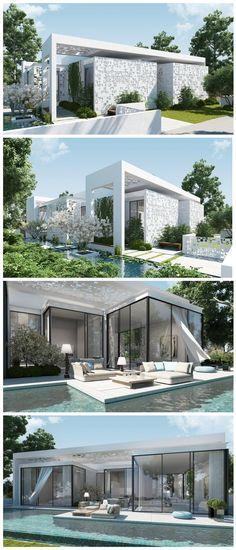 Beautiful Luxury House Design By Ando Studio Luxury House