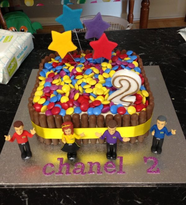 Wiggles Birthday Cake Easy Diy Wiggles Birthday Cake I Made The