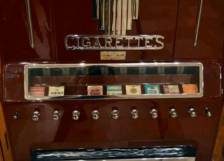 Buying cigarettes from a machine   DO YOU REMEMBER ...