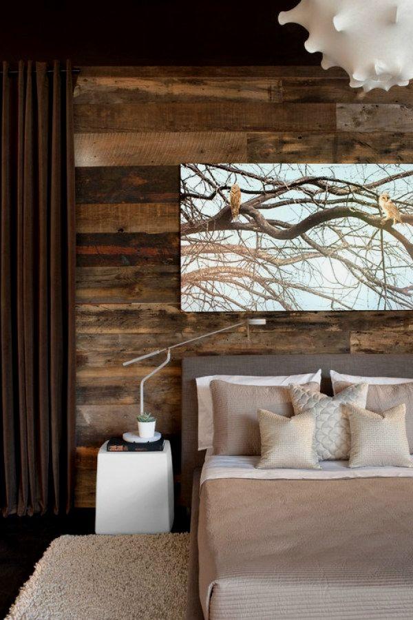 50 Creative Rustic Style Bedroom Decor Ideas