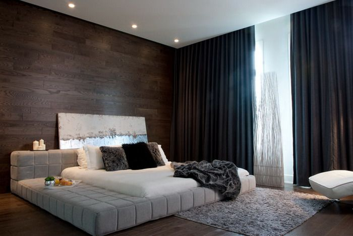 Curtains Ideas curtains contemporary : Contemporary Bedroom Curtains