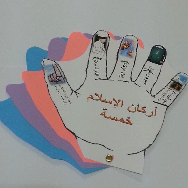 وسائل تعليمية وتوزيعات وثيمات On Instagram مطوية لمادة التوحيد Alphabet Kids Islam