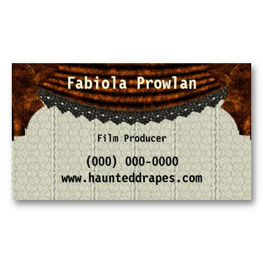 Film producer business card template card templates business film producer business card template colourmoves Image collections