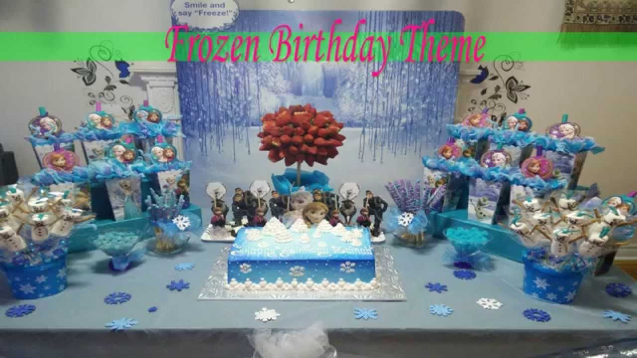 httpatvnetworkscom Frozen Birthday Theme Party Ideas