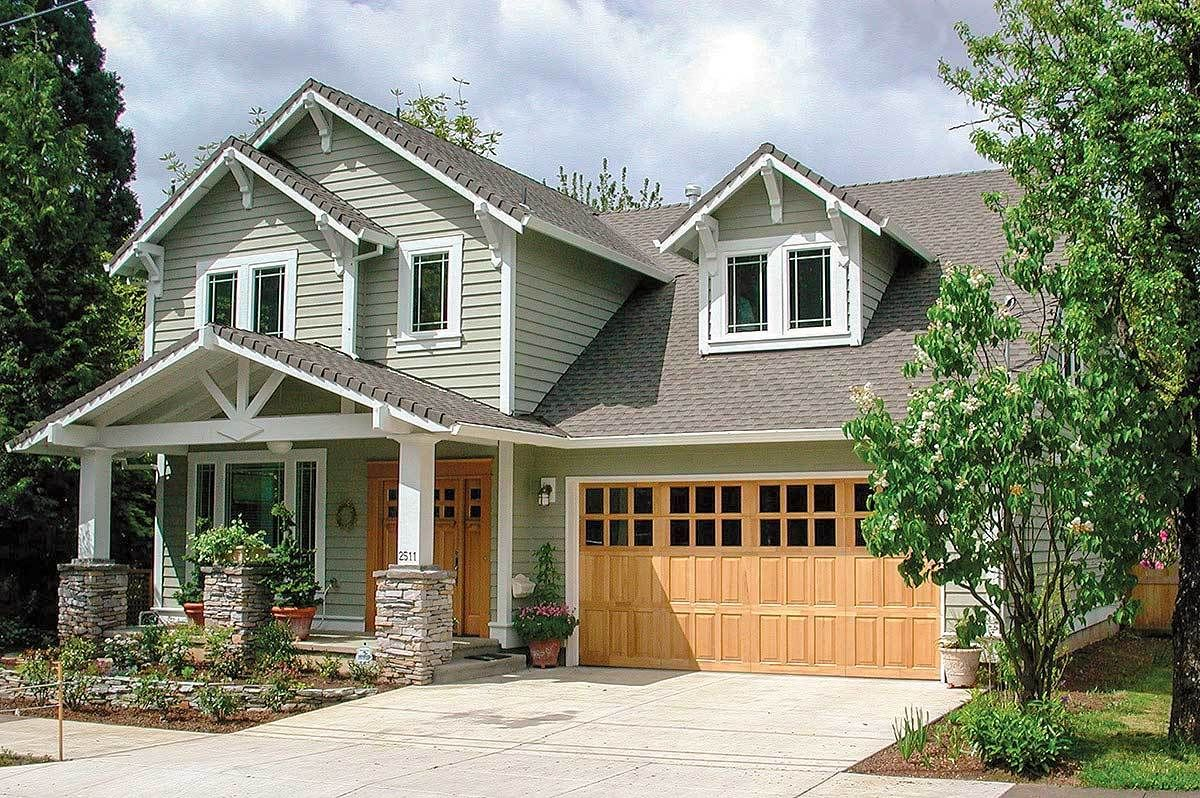 Plan 6903AM: Craftsman Home Plan with Bonus Room | Architectural ...