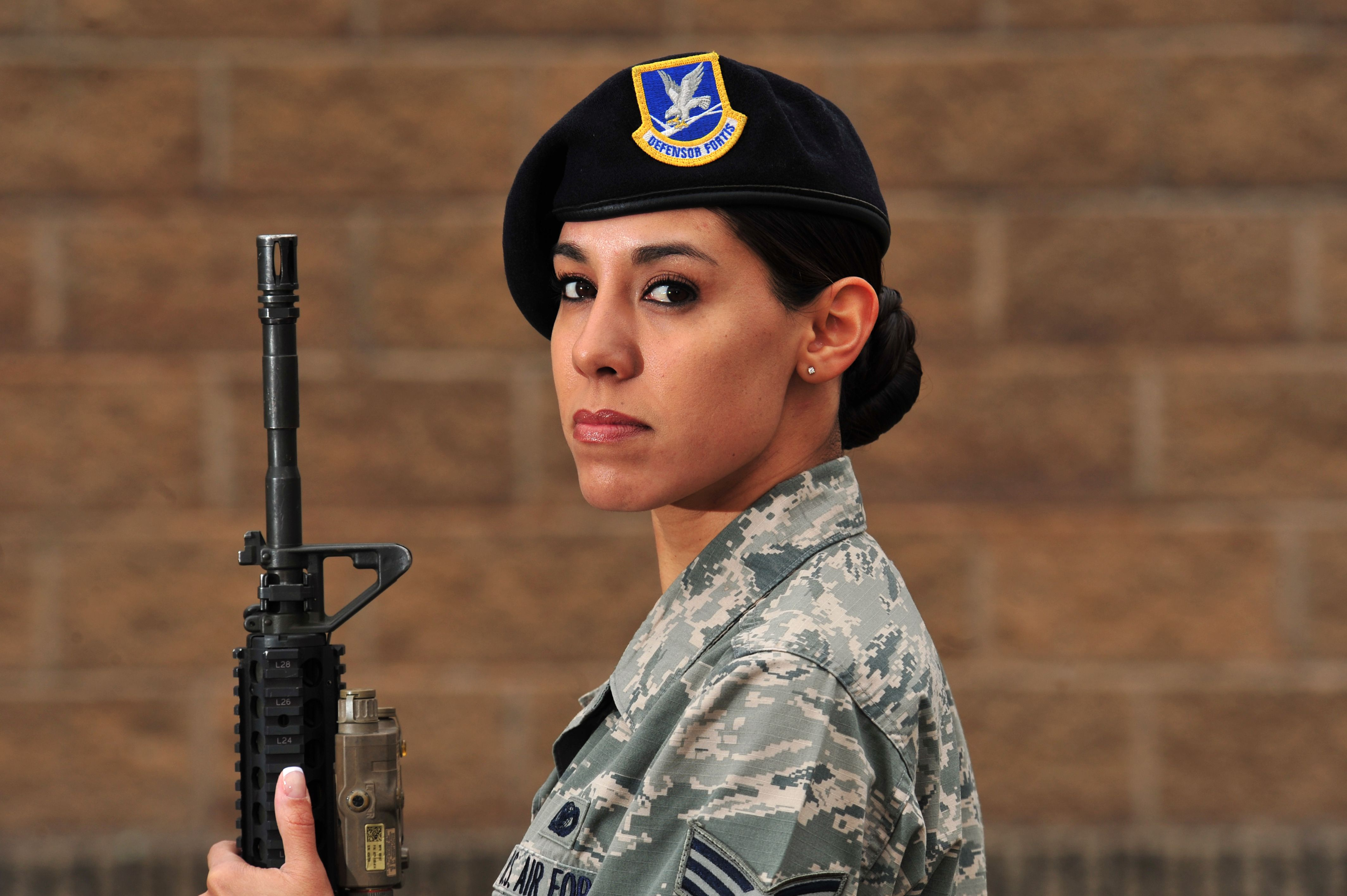 For Women's History Month U.S. Air Force Senior Airman