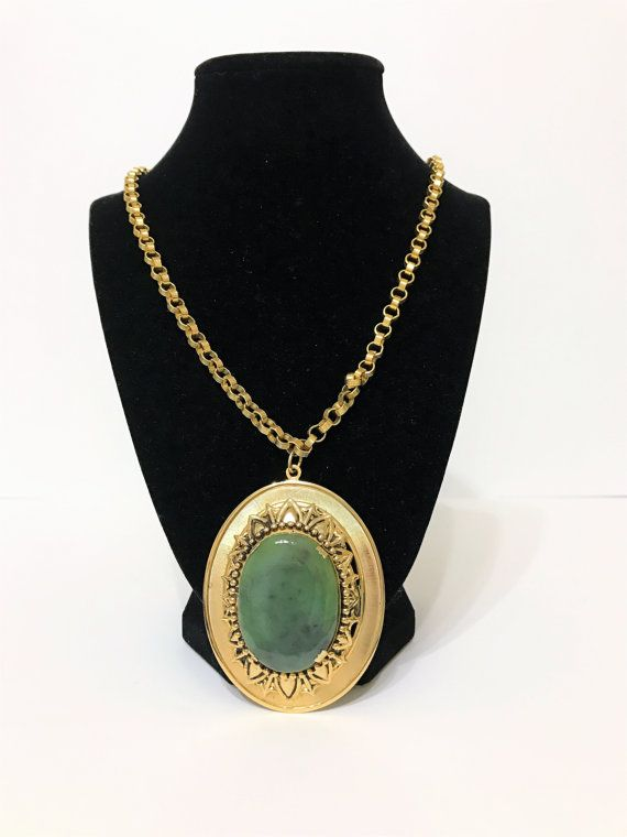 medallion photo chain medallion necklace vintage medallion necklace vintage necklace with medallion Medallion necklace