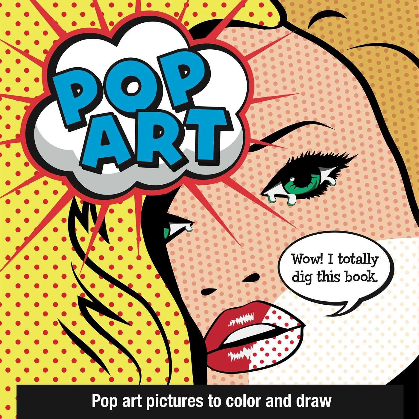 Pop Art 9781499803624 Hr Jpg 1400 1400 Pop Art Colors Pop Art Doodle Books