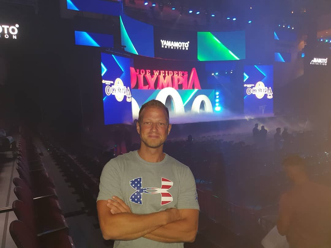 The Superbowl of Bodybuilding has finally arrived in Las Vegas💪✌ . . . #LasVegas #MrO #2019 #MrOlymp...