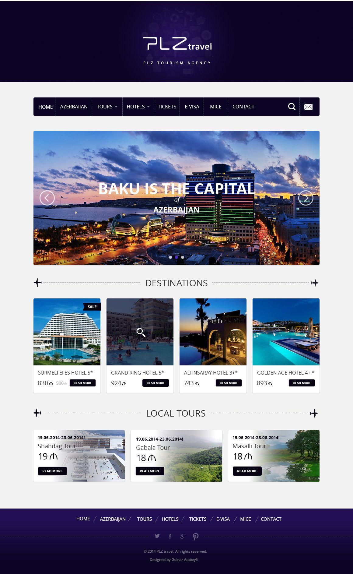 Plz Tourism Web Site Design Site Design Tourism Website Design