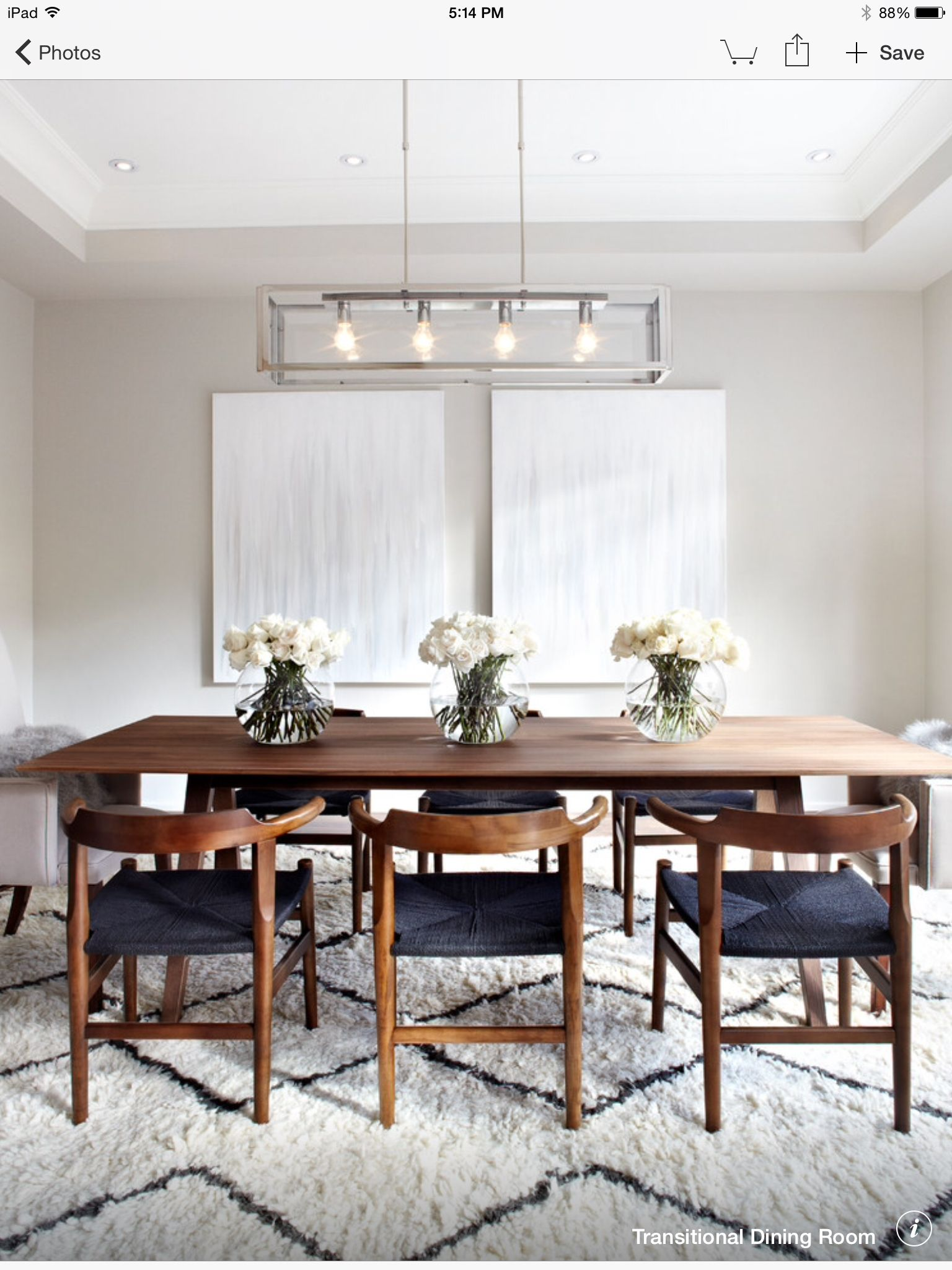 Moderne küchenideen der mitte des jahrhunderts tan  gray  white dining  home decor  pinterest  esszimmer