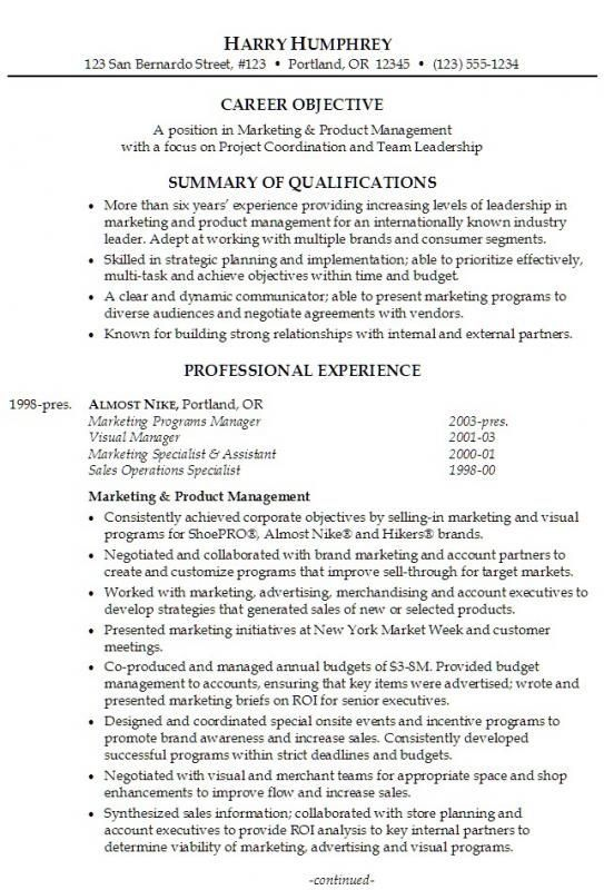 Resumes Examples For Retail resume examples Pinterest Resume - Example Of A Resume Summary