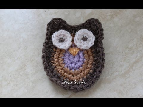 How To Create A Crochet Appliqué Owl - DIY Crafts Tutorial - Guidecentral - YouTube