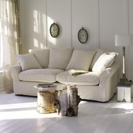 Sofa Long Beach #Wohnzimmer #loberon Haus u2013 Wohnzimmer - wohnzimmer couch landhausstil