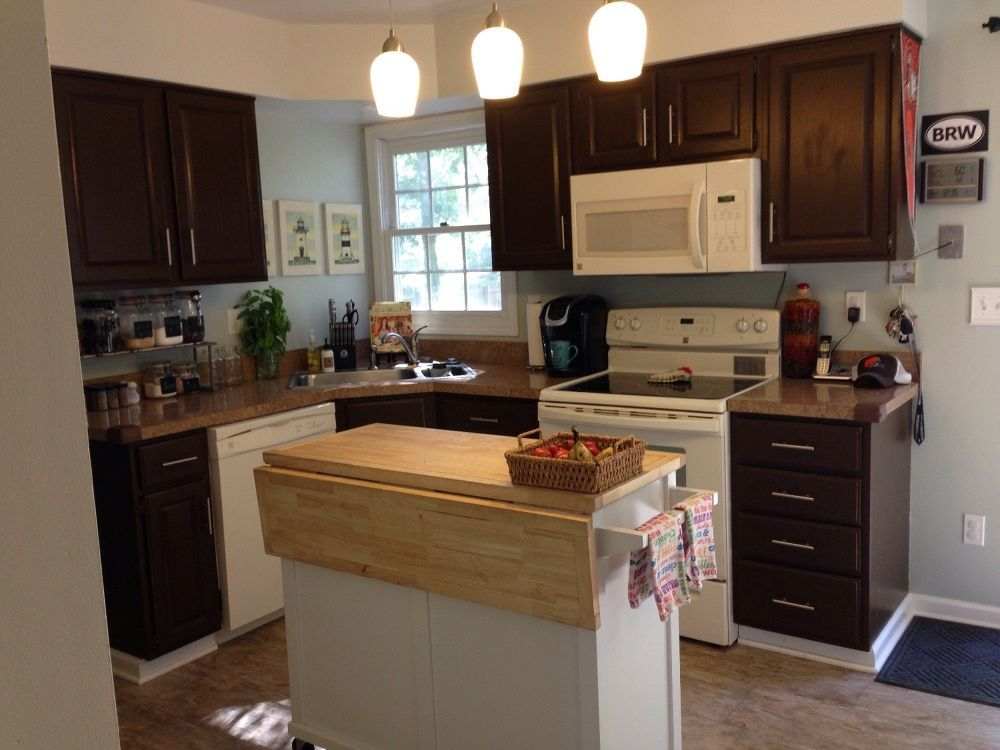 to repaint or not to repaint kitchen cabinets