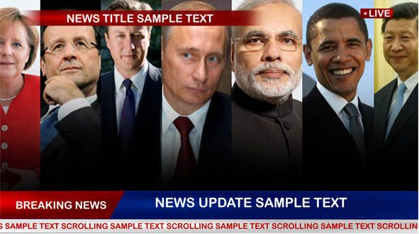 News Ticker After Effect Project Template Free Download Gfxcave