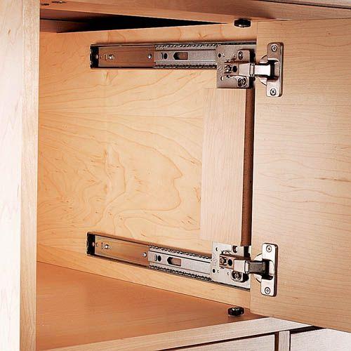 Ez Pivot Door Slides On Laundry Room Doors A House