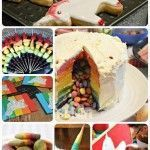 Photo of Surprise Pinata Rainbow Cake – Red Ted Art – Ostern –  Surprise Pinata Rainbow…