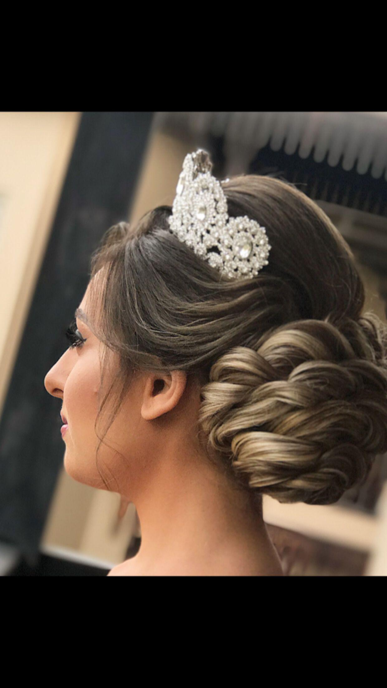hair #bride #andrew_kassemkhalil #fashion #style #hairstyle