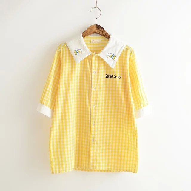 e799e0f64 Image result for yellow cute button up shirt | Outfits | Mens tops ...