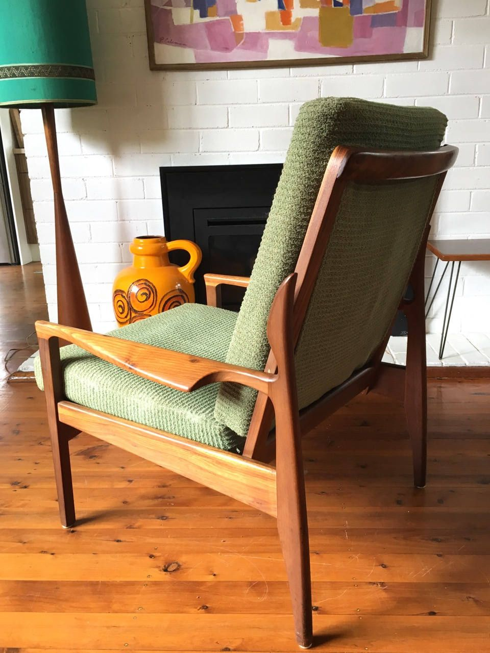 Vintage Fler Armchair By Fred Lowen Danish Style Tribecasvintage On Etsy