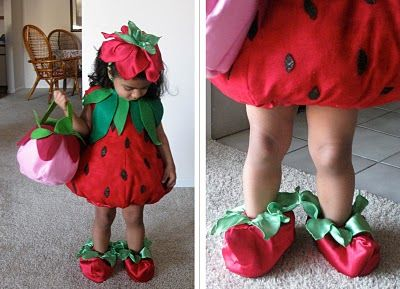 Strawberry Costume - Adorable & Strawberry Costume - Adorable | Costumes | Pinterest | Strawberry ...