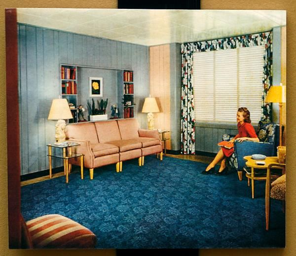 Home is where vintage is Home Pinterest 1940s, Living rooms