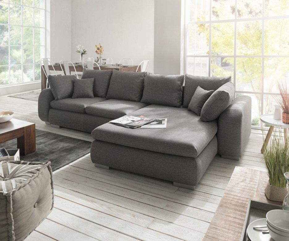 Interessant Schone Dekoration Big Sofa L Form Ecksofa Maxie