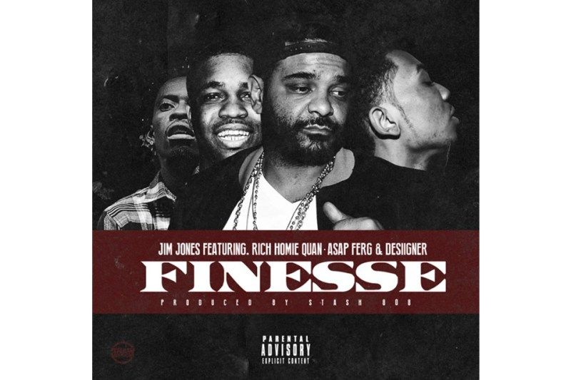 "Jim Jones Connects with A$AP Ferg Rich Homie Quan & Desiigner For ""Finesse"""