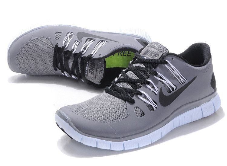 nike free run 5.0 womens grey